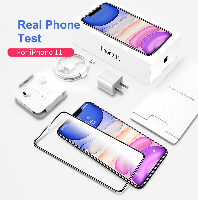 iPhone xr matte screen protector