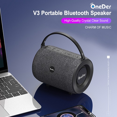 V3 Bluetooth Speaker With Microphone